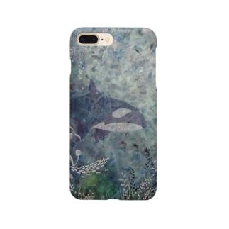 鯱植物図2 Smartphone cases