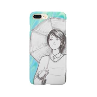 雨・憂 Smartphone cases
