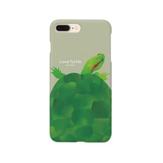 Love Turtle TypeB サンド Smartphone cases