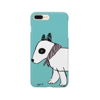 ブルテリアのフィーカ Smartphone cases