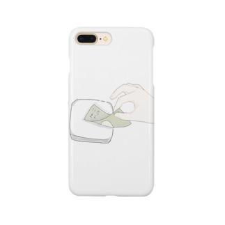 1万円をはんぺんにそろり。 Smartphone cases