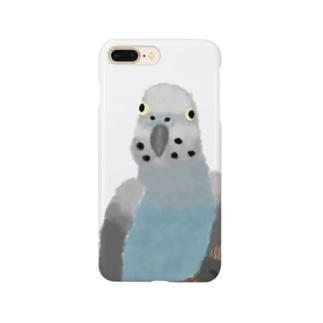セキセイさん Smartphone cases