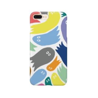 カラフルおばけ Smartphone cases