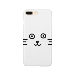 Poker-faced cat Smartphone cases