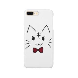 リボンねこ Smartphone cases