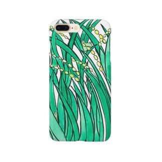 稲のあいだの歌 Smartphone cases