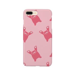 くまー Smartphone cases