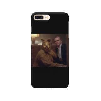 黒い犬男 Smartphone cases