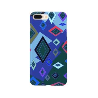 菱形の乱舞 Smartphone cases