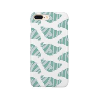 空色のクロワッサン Smartphone cases