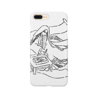 紫式部 Smartphone cases