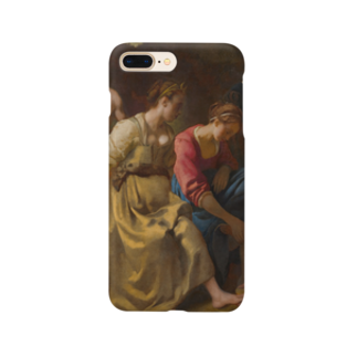 Art Baseのディアナとニンフたち / フェルメール(Diana and her Companions 1654) Smartphone cases