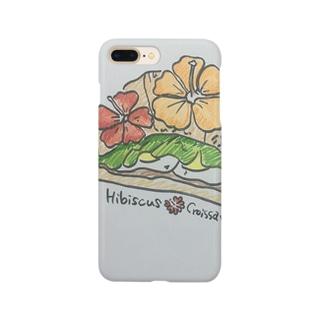ハイビスカス🌺サンド Smartphone cases