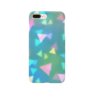 とめどなく三角 Smartphone cases