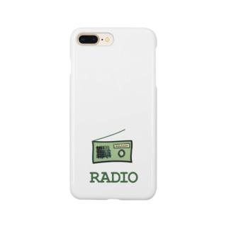 ラヂオ Smartphone cases