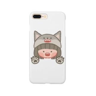 オオカミの女の子 Smartphone cases