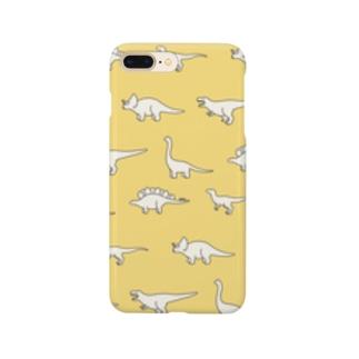 ゆるい恐竜たち Smartphone cases
