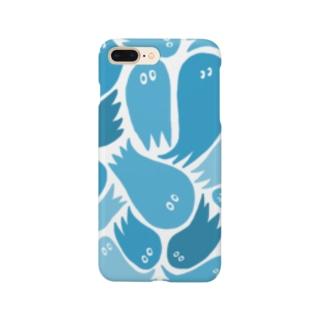 おばブルー Smartphone cases