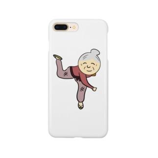 豆まき婆さん Smartphone cases