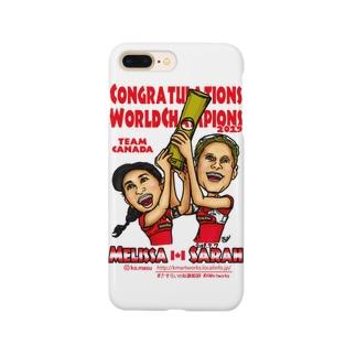 World Champs Melissa/Sarah Smartphone cases