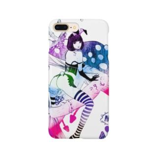 MAD ALICE 電池式キノコの国のアリス バニー型 Smartphone cases