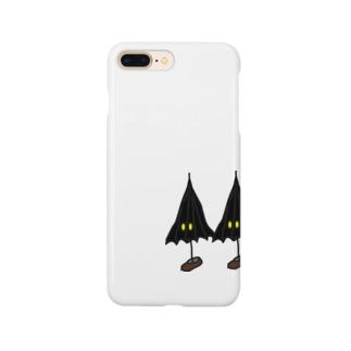 こうもり傘小僧ツヴァイ Smartphone cases