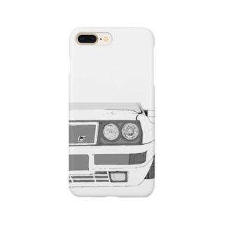 LANCIA DELTA HF FRONT(BK)  Smartphone cases