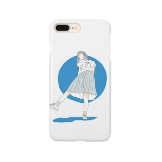 夏の女子高生 Smartphone cases
