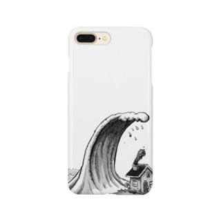 避難完了 Smartphone cases