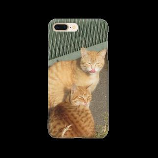 トロワ イラスト&写真館の美人な茶トラちゃん達 Smartphone cases