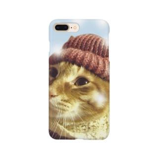 カッコイイ!猫ちゃん Smartphone cases