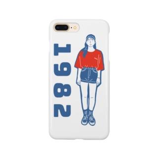 1982ガール2 Smartphone cases
