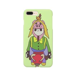 ふにゃふにゃ Smartphone cases