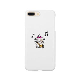 ごきげんねこ Smartphone cases