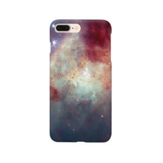 """MEMORIES:1|夕焼けに染まる,海と空を君に"" Smartphone cases"