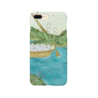 うさちゃん川渡し Smartphone cases