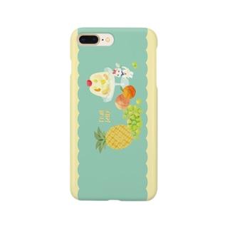 フルーツゼリー Smartphone cases