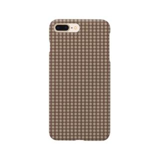 封筒地紋(花:01) Smartphone cases