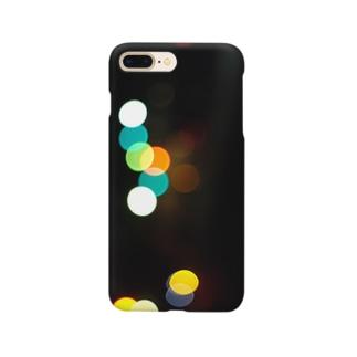 colored bokeh Smartphone cases