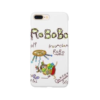 ROBOBO ウロコインコ「コウちゃんロボ」 Smartphone cases