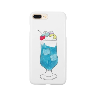 blue blue soda Smartphone cases