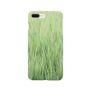 田植え(みたいな) Smartphone cases