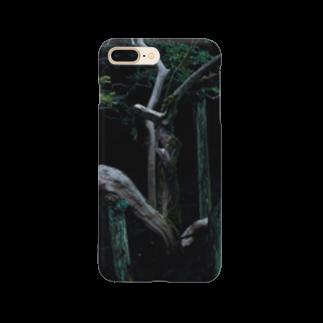 猫とぽてち。の鬼胎 Smartphone cases