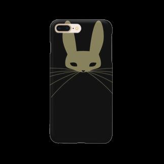 PAPER  HEKISUIの黒うさぎスマートフォンケース