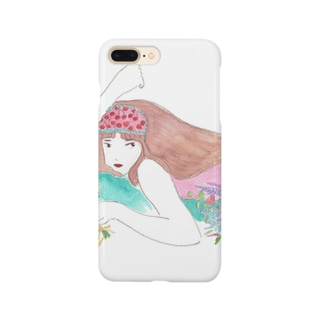 flowering girl Smartphone cases