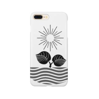 ロゴプリント Smartphone cases