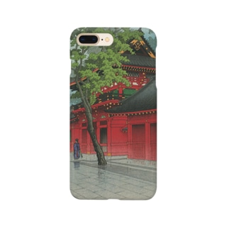 「山王之雨後」 Smartphone cases
