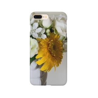 片手に花束 Smartphone cases
