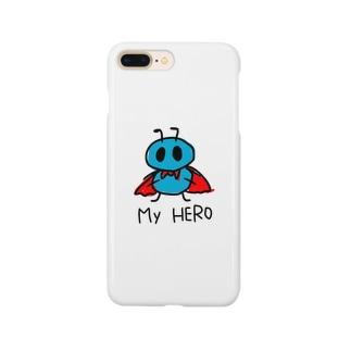 My HERO is ありさん。 Smartphone cases
