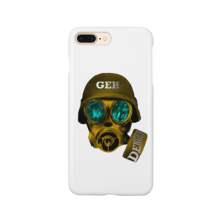 GENさんのお店のガスマスク Smartphone cases